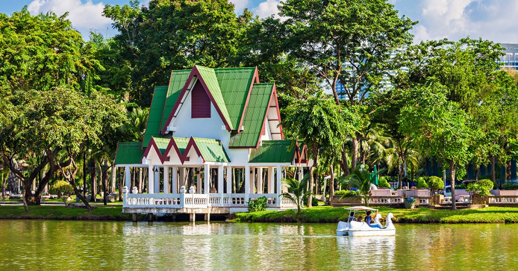Lumpini Park Traditional House